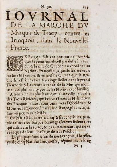 GAZETTE [DE FRANCE]. 1631-1745. 81 années reliées en 80 volumes in-4, soit: 64...