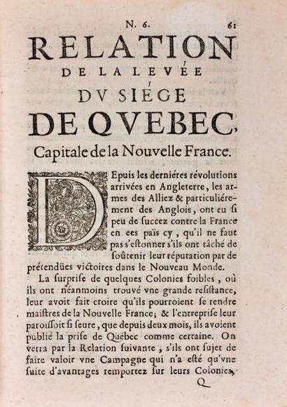 GAZETTE [DE FRANCE]. 1632-1785. 130 années reliées en 131 volumes in-4, demi-basane...