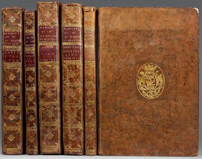 BRETEUIL (Louis-Nicolas Le Tonnelier de) Manuscrit portant des titres avec variantes,...