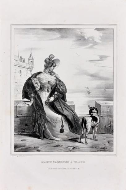 BERRY (Duchesse de) et légitimisme. -3 volumes...