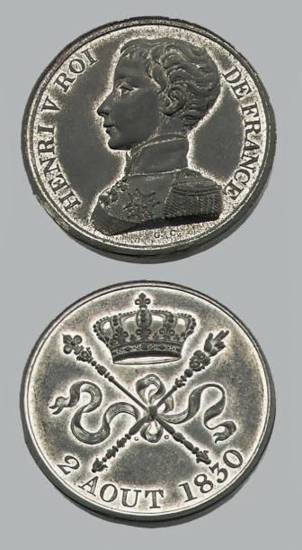 HENRI V (1820-1883) 5 Francs (module de)....