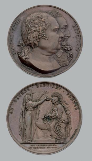 1er Mai 1821: Baptême du Duc de Bordeaux...