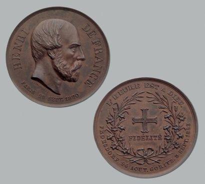 24 Août 1883. Frohsdorf. Mort d'Henri V....