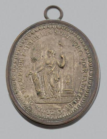 Martyrs de la Liberté: 10 Médailles dont...