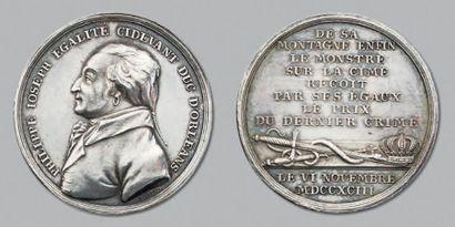 Philippe Égalité: médaille de la