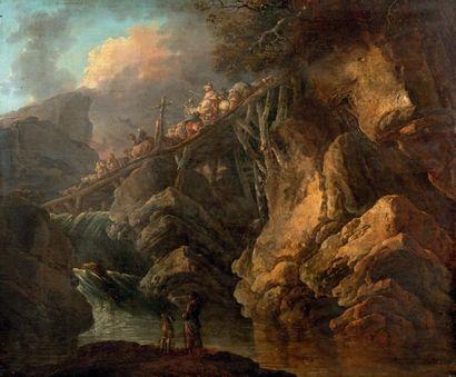 Attribué à Jean-Baptiste SARRAZIN (actif à la fin du XVIIIe siècle)