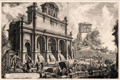Veduta del Castello dell'Acqua Paolo sul...