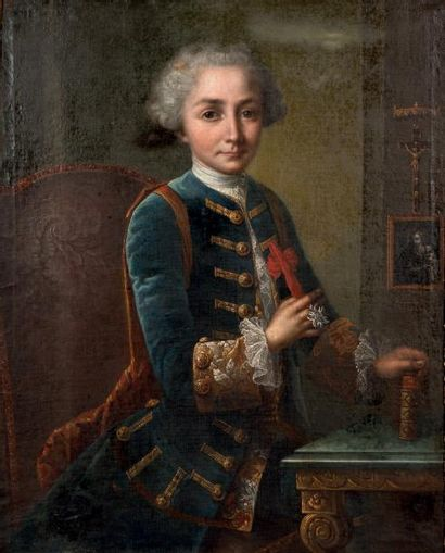 Attribué à Claude POUGIN de SAINT-AUBIN (mort en 1783)