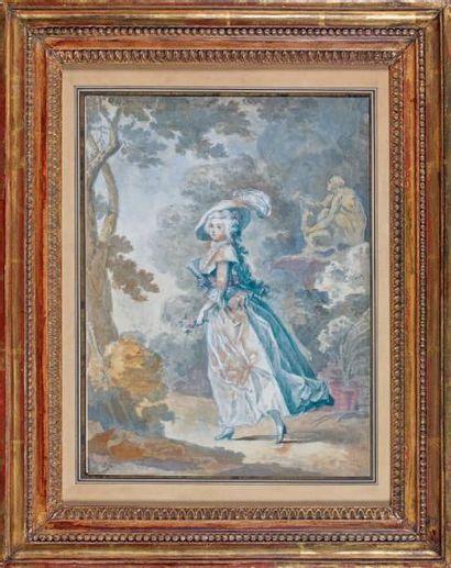Attribué à Jean-Claude HOIN (1750-1817)