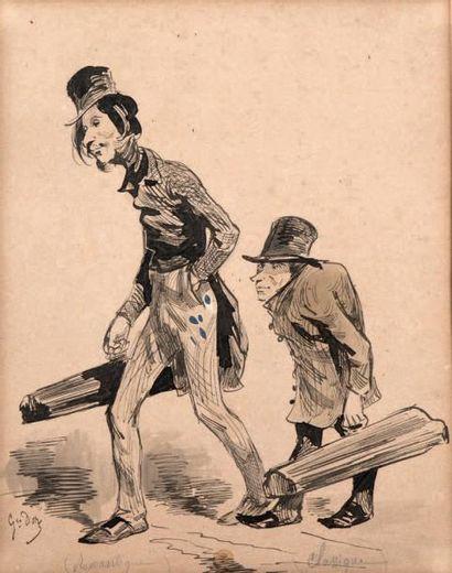 Gustave DORÉ (Strasbourg, 1832 - Paris, 1883)