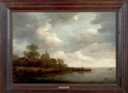 Attribué à Adrien van der KABEL (1631-1705)