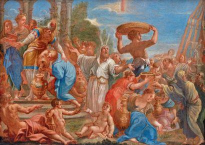 ÉCOLE FRANÇAISE de la fin du XVIIe siècle