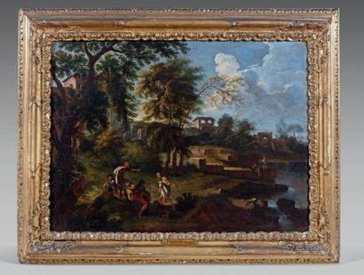 ÉCOLE FRANÇAISE du XVIIe siècle, d'après Gaspard DUGHET (1615-1675)