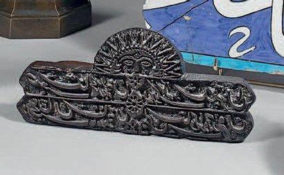 Tampon kalemkar, Iran qâjar, XIXe siècle....