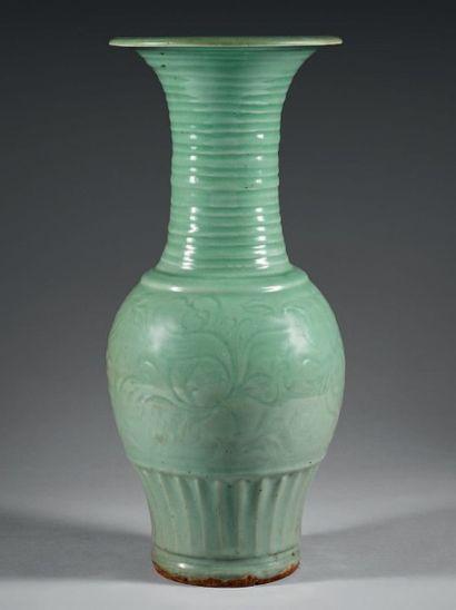 CHINE, Longquan - XVe/XVIe siècle
