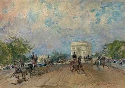 Edmond MORIN (1824-1882)