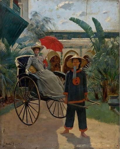 Pierre André BROUILLET (1857-1914)