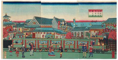 UTAGAWA TOYOSHIGE II (1855-1944)