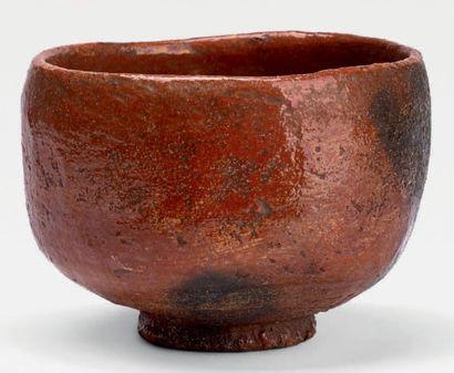 Fours de Raku - Milieu de l'époque EDO (1603-1868), <br>XVIIIe siècle<br/>Attribué à RAKU CHONYU VII