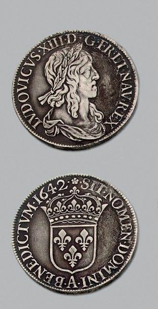 LOUIS XIII (1610-1643) Écu de 60 sols de...
