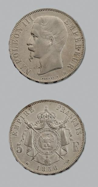 SECOND EMPIRE (1852-1870) 5 francs Napoléon...