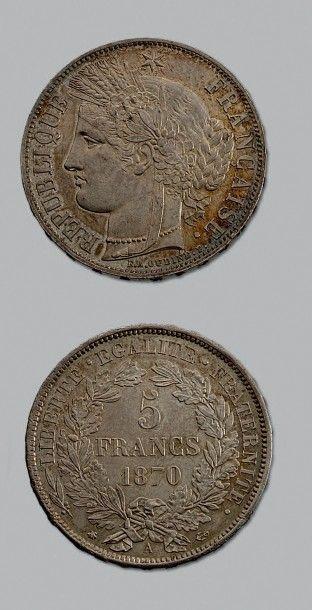 GOUVERNEMENT de DÉFENSE NATIONALE (1870-1871)...
