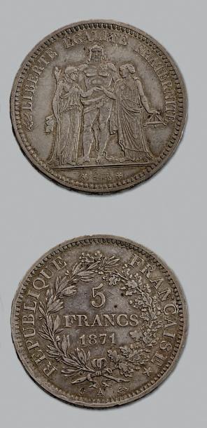 COMMUNE de PARIS (18 mars - 28 mai 1871)...