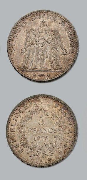 TROISIÈME RÉPUBLIQUE (1871-1940) 5 francs...