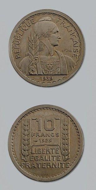 TROISIÈME RÉPUBLIQUE (1871-1940) 10 francs,...