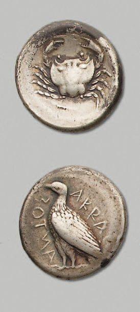 SICILE - Agrigente (472-420 av. J.-C.)