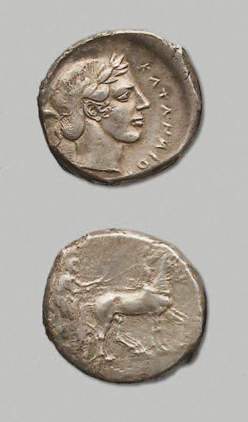 SICILE - Catane (461-413 av. J.-C.)