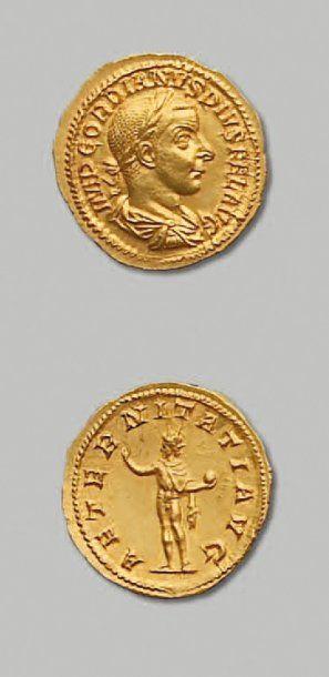 MONNAIES D'OR - GORDIEN III (238-244)