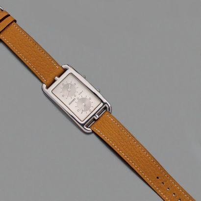 Hermès Modèle Cape Cod deux fuseaux horaires