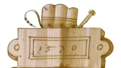 CASTELDURANTE ou DUCHÉ D'URBINO Daté 1530 Plat rond à décor polychrome sur le bassin...