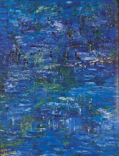 J. BRISSAUD Nymphéas, 1994
