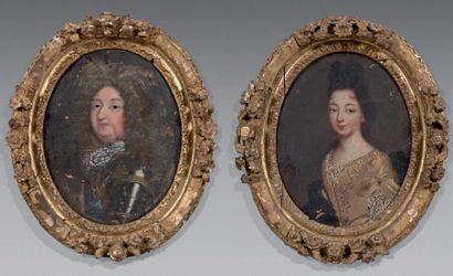 ÉCOLE FRANÇAISE de la fin du XVIIe ou du début du XVIIIe siècle