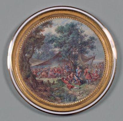 Attribué à Louis-Nicolas VAN BLARENBERGHE (1716-1794)