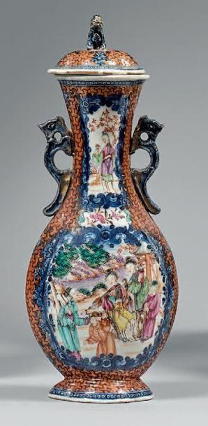 CHINE, Canton - Fin de l'époque Qianlong (1736-1795)