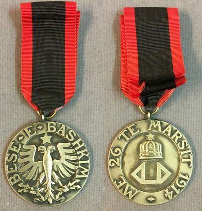 Albanie - Ordre de l'Aigle noir, fondé en...