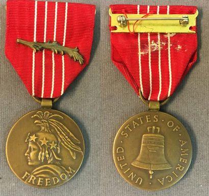 États-Unis d'Amérique (USA) - Médaille de...