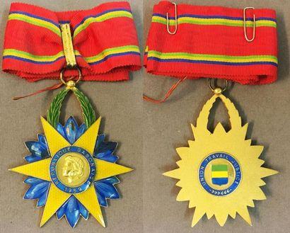 Gabon - Ordre de l'Étoile Équatoriale, fondé...