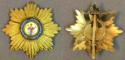 Allemagne, royaume de Saxe - Ordre Militaire...