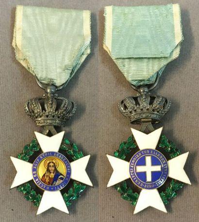 Grèce - Ordre du Sauveur, croix de chevalier...