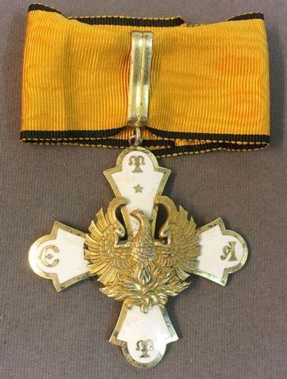 Grèce - Ordre du Phénix, fondé en 1926, croix...