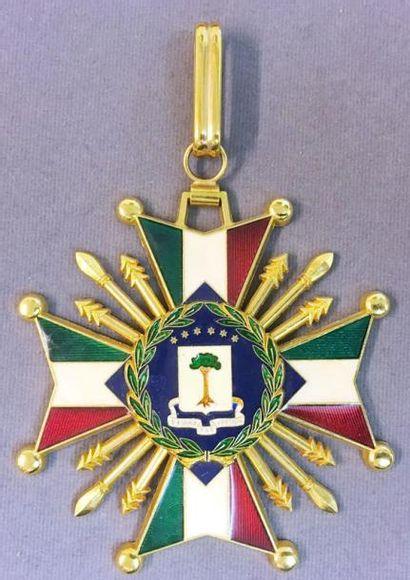 Guinée Équatoriale - Ordre National, bijou...
