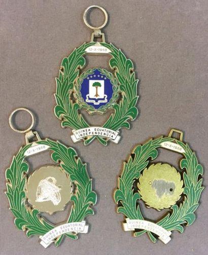 Guinée Équatoriale - Ordre de l'Indépendance,...
