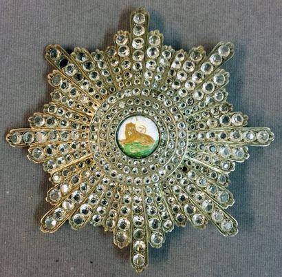 Iran - Ordre du Lion et du Soleil, fondé...