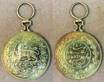 Iran - Ordre du Lion et du Soleil, médaille...