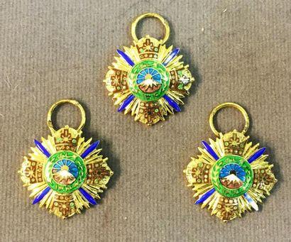 Iran - Ordre des Pahlavi, fondé en 1932,...