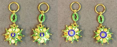 Iran - Ordre de la Couronne, fondé en 1913,...